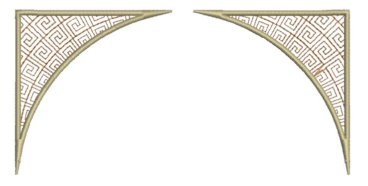 ladies 3 victorian borders 5x7 these borders will be sent free with ...
